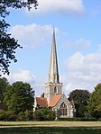 Shottesbrooke Church from the east.JPG