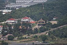 Shuxiang Temple, seen from the Mountain Resort, 2016-09-05.jpg
