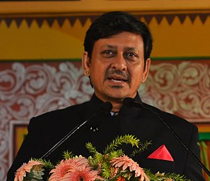 Siddhanta Mahapatra - Mahapatra speaking at the Odisha State Film Awards 2014 at Utkal Mandap, Bhubaneswar.