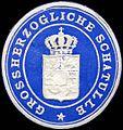Siegelmarke Grossherzogliche Schatulle W0204617.jpg