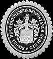 Siegelmarke Siegel des Stadtgemeindevorstandes Schleiz W0313485.jpg