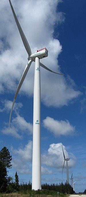 Østerild Wind Turbine Test Field - Image: Siemens 7MW at Østerild, 2017
