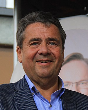 Minister for Foreign Affairs (Germany) - Image: Sigmar Gabriel (cropped)