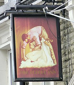 Sign of the Fleece - geograph.org.uk - 1440172