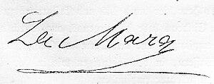 Ida Marie Lipsius - La Mara's signature