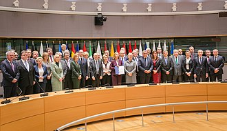 Permanent Structured Cooperation - On 13 November 2017, Foreign and Defence Ministers from 23 EU states signed the Joint notification on setting up PESCO in a Foreign Affairs Council chaired by the High Representative for Foreign Affairs, Federica Mogherini.