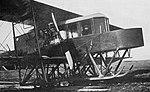 Sikorsky Le Grand front end Aircraft October 1913 (cropped, grayscale).jpg