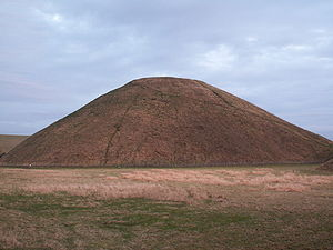 History of Wiltshire - Silbury Hill.