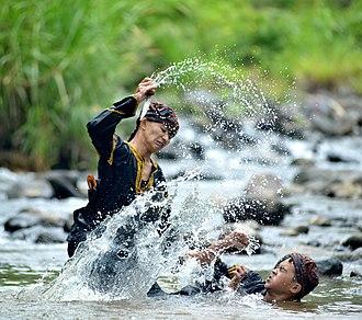 Silat - A demonstration of the Minangkabau style of silat.