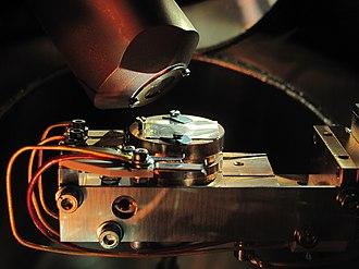 Spectrometer - An XPS spectrometer