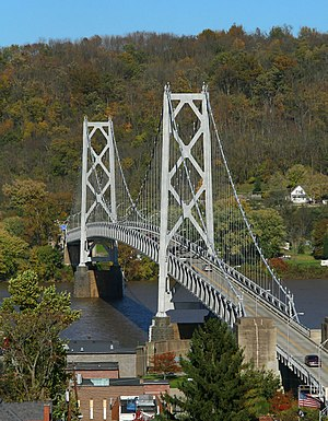 Maysville, Kentucky - Simon Kenton Memorial Bridge