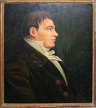 Simon Fraser (explorer) - Pre-1825 portrait of Simon Fraser