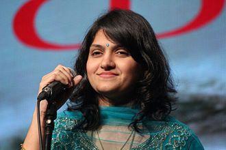 Harini (singer) - Image: Singer harini pic