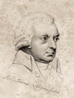 James Mansfield - Sir James Mansfield