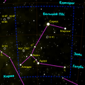 Sirius in Canis major constellation.png