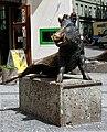 Sitting boar statue - Deutsches Jagd- und Fischereimuseum - Munich - Germany 2017.jpg