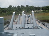 Six main guns of USS North Carolina IMG 4347