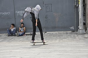 Nollie - Image: Skateboarding at Mexico City Flip 043
