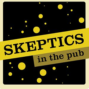 Skeptics in the Pub - Common logo of SITP events worldwide