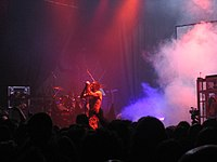Skinny Puppy live at London Astoria, August 10 2005 5.jpg