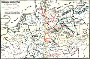 Sorbs (tribe) - Map of the Sorbian March.