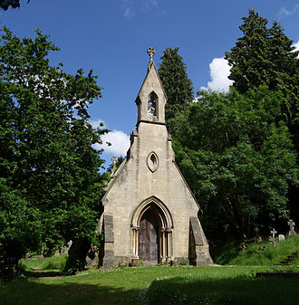 Thomas Fuller (architect) - Image: Smallcombe Cemetery Mortuary Chapel