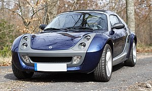 Smart Roadster - Image: Smart Roadster Coupe 1