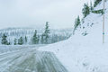 Snow slides onto the highway (23945352711).jpg