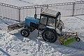 Snowplow MTZ in Minsk p1.jpg