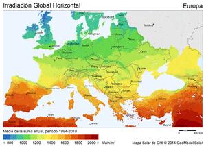 Energ a solar en espa a wikipedia la enciclopedia libre - Energia solar madrid ...