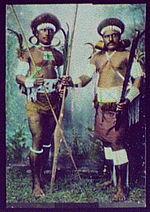 Guerriers des Îles Salomon en 1895
