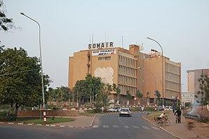 SOMAIR - SOMAIR's headquarters building in Niamey, Niger
