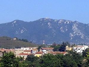 Edistus - Mount Soratte seen from Via Flaminia.