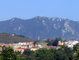 Monte Soratte - Mount Soratte seen from Via Flaminia