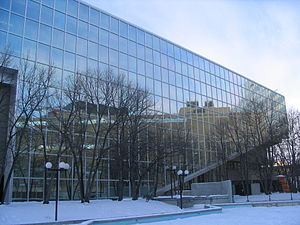 Winnipeg Public Library - The Millennium Library, which is the main branch of the Winnipeg Public Library