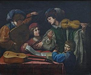 Leonello Spada - Concert, Louvre