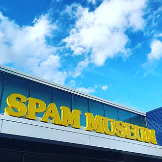 Spam Museum - Facade of Spam Museum
