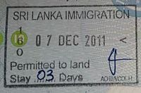 Sri Lankan entry stamp.jpg