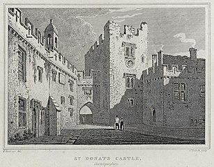 St. Donats castle, Glamorganshire