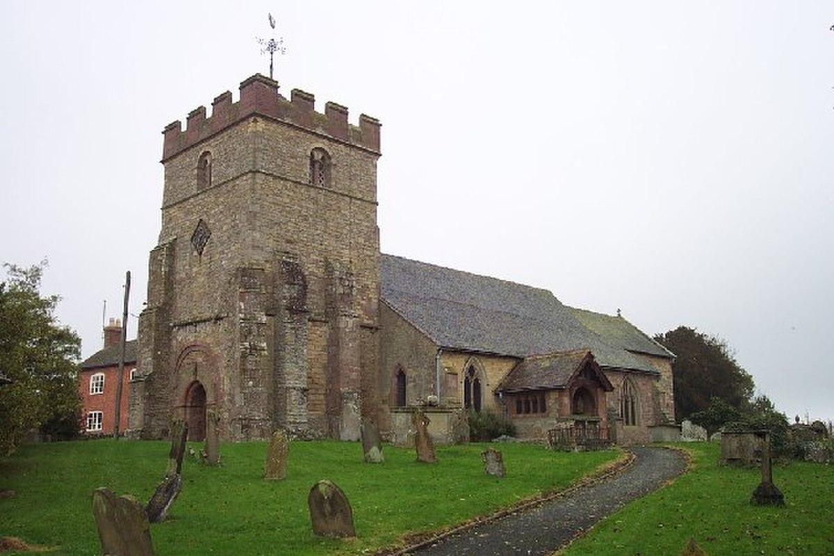 St. Peter, Diddlebury - geograph.org.uk - 120655.jpg