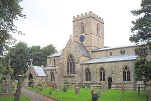 Bicker, Lincolnshire - St Swithin's church