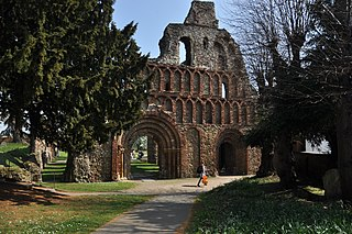 Colchester Town in Essex, England