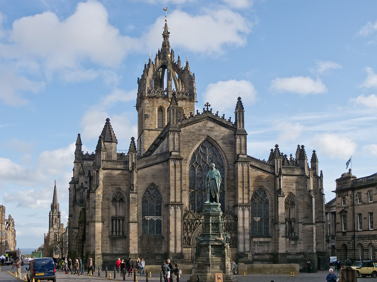 St Giles' Cathedral - Wikipedia