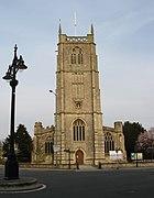 St John the Baptist, Keynsham, tower end