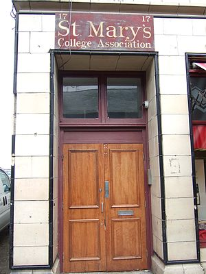 St Mary's College, Crosby - St Mary's Old Boys' Club pictured shortly after its closure by Sefton Council in April 2010