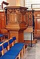 St Nicholas Cole Abbey, Queen Victoria Street, London EC4 - Pulpit - geograph.org.uk - 1227148.jpg
