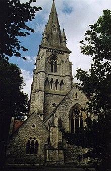 St Thomas Church, Winchester - Wikipedia