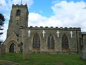 Calverton, Nottinghamshire - Image: St Wilfrids Church, Calverton geograph.org.uk 1758901