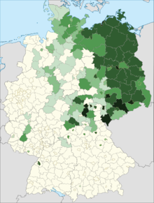 Map Of Germany And Russia.Russians In Germany Wikipedia