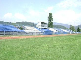 Mladost Stadium (Lučani) - Image: Stadion Mladost Lučani 2